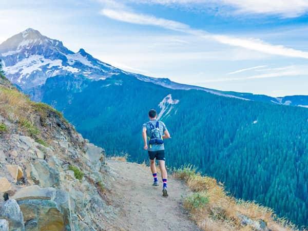 Trail running l