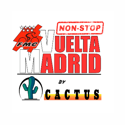 Poster for event I Vuelta a Madrid Non-Stop by Cactus 2020