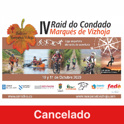 Poster for event V Raid do Condado - Marqués de Vizhoja 2020