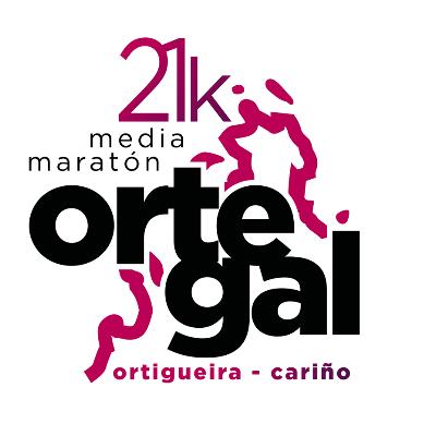 Cartel del evento Campeonato de España de Media Maratón Ortigueira - Cariño 2019