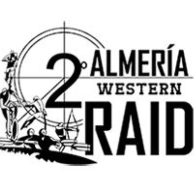 Cartel del evento II Almería Western Raid - CERA 2016