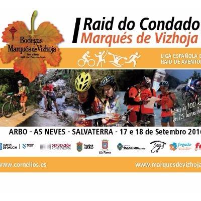 Poster for event I Raid Sur do Condado - Marqués de Vizhoja
