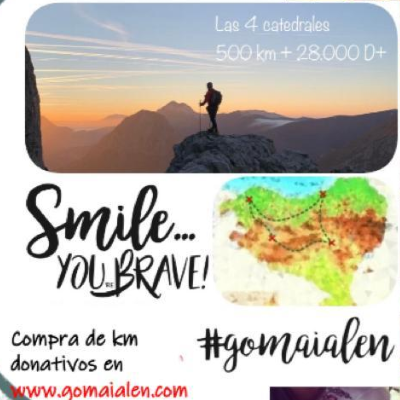 Poster for event Smile you're brave #gomaialen