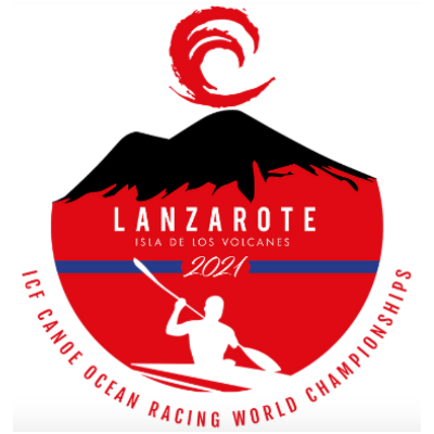 Cartel del evento ICF Canoe Ocean Racing World Championships 2021