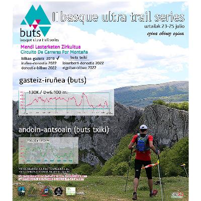 Poster for event Basque Ultra Trail Series - Gasteiz-Iruñea