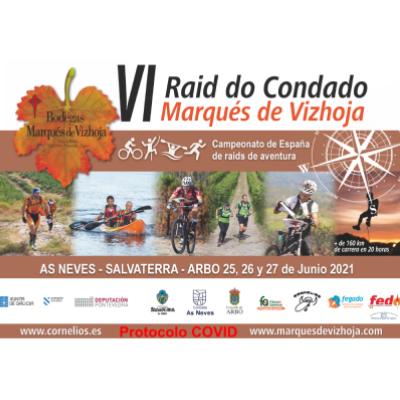 Poster for event VI Raid do Condado Marqués de Vizhoja CERA 2021