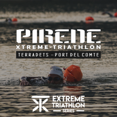 Poster for event Pirene Xtreme Triathlon 29/05/2021