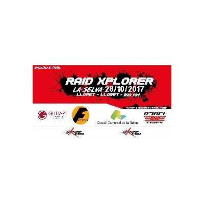 Poster for event 1º Raid Xplorer Events La Selva 2017