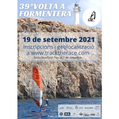 Poster for event 39ª Volta a Formentera en Windsurf 2021