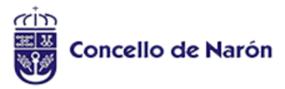 Logotipo del patrocinador Concello de Narón